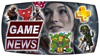 PS Plus, TMNT, Tomb Raider PC, UFC 2, ACC India, Unravel, PvZ GW 2 - Game News