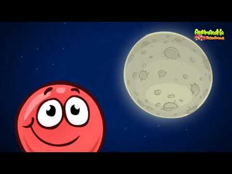 Видео: Красный шар 5 Битва за Луну 2 часть мультик игра!
