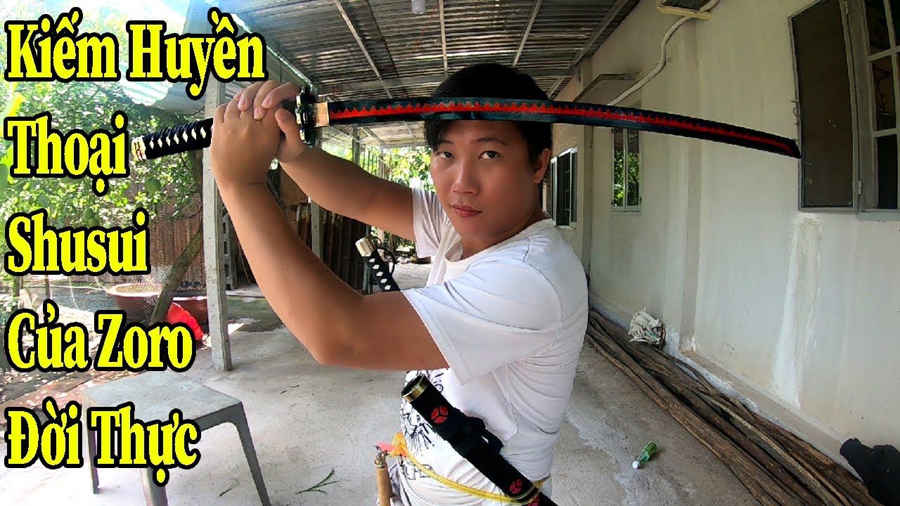 Strengthlee Vlogs - Kiếm Huyền Thoại Shusui Zoro Thuộc Về Strengthlee | Real Life Shusui Sword