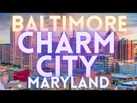 Visit Baltimore Maryland Travel Tour 4K