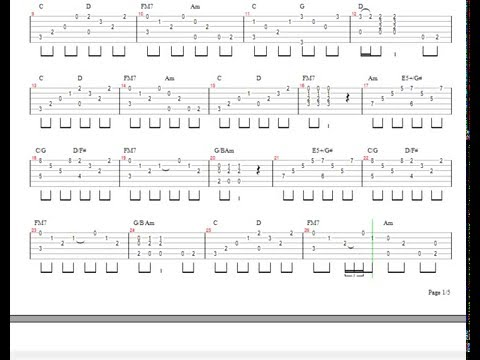 #Led Zeppelin - Stairway To Heaven - (Tab) como tocar!