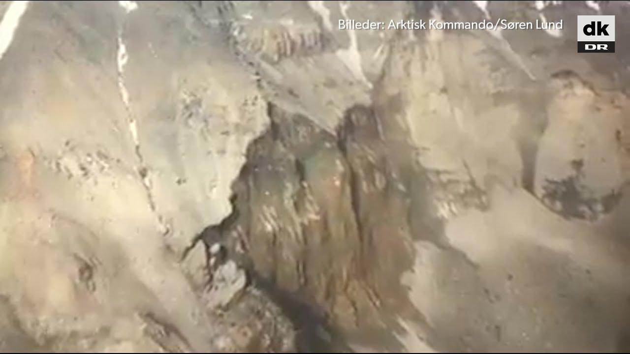 Øjenvidner så kæmpe støvsky før flodbølge ramte Grønland