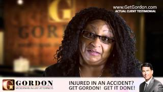 Rear-end Wreck | Real Client - Rosie Stansberry | Gordon McKernan Injury Attorneys