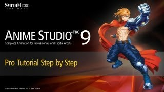 Anime Studio 9 & 9.5 Pro Tutorial (Moho) - Step by Step Tutorial(Learn more about Anime Studio at http://my.smithmicro.com/anime-studio-2D-animation-software.html., 2012-09-05T19:58:35.000Z)