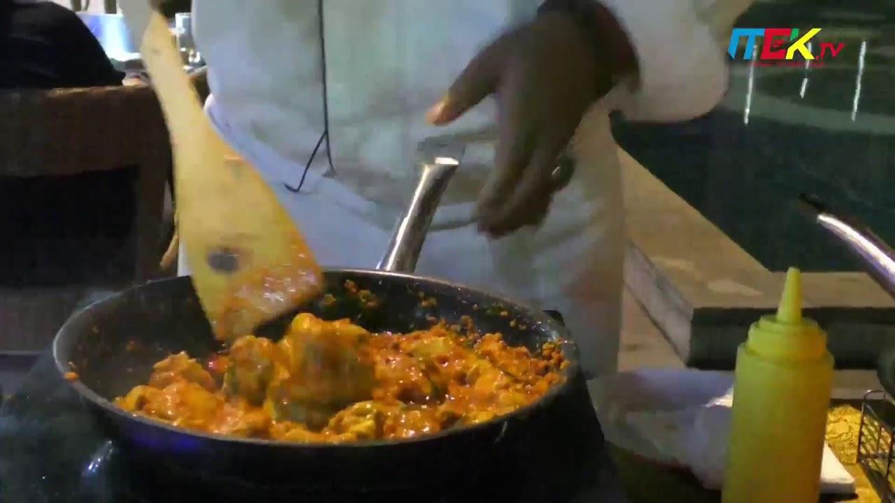 Daging Cabe Lado Ijo & Ayam Woku - Menu Cantik (Teras Ramadan Hotel Claro Kendari)