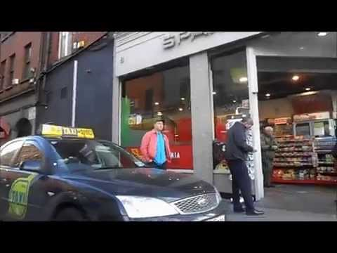 Store Street Gardai and Spar Shop O Connell Street