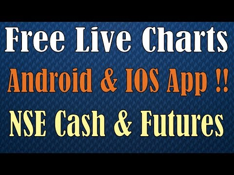 Free Live Charts for Indian Stocks on Android App