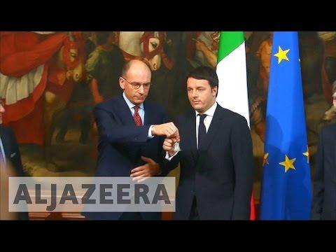 Italian prime minister formally resigns