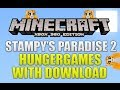 Minecraft Xbox 360 Stampy s Paradise 2 Hunger Games With Download TU15 MAP