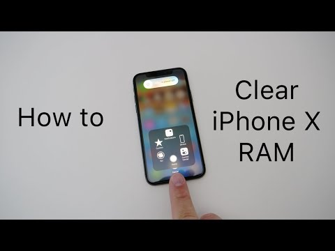 How to close out apps on the new iphone 10 come