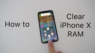 Gambar cover How To Clear iPhone X RAM Memory