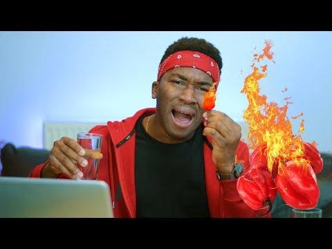 Download Twyse Ereme Comedy video: YOU LAUGH YOU EAT PEPPER CHALLENGE (Scotch Bonnet) mp4
