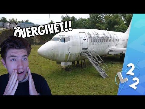 ETT ÖVERGIVET FLYGPLAN - BOEING 737! (SKITLÄSKIGT)