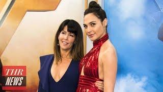 Patty Jenkins Responds to James Cameron's Disparaging 'Wonder Woman' Remarks | THR News thumbnail