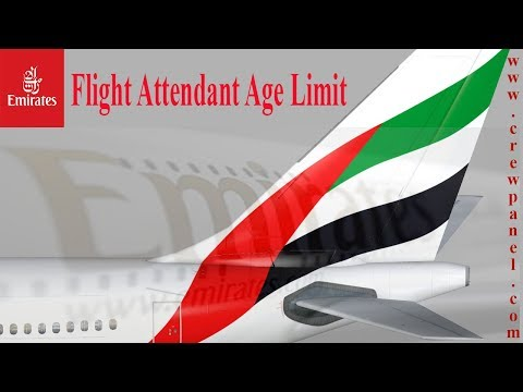 Cabin Crew Age Limit In Emirates Airline | what is the minimum age for cabin crew in Emirates