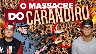 VEJA COMO FOI O MASSACRE DO CARANDIRU