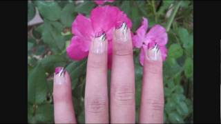 Fun and Elegant Pink French Tip Nail Tutorial