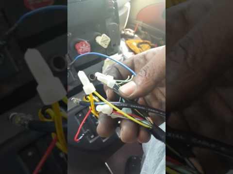 [DIAGRAM_38YU]  2008 international prostar Radio install double din - YouTube | International Radio Wiring Diagram |  | YouTube