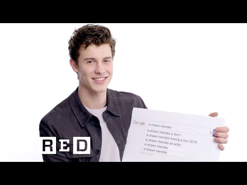 Shawn Mendes Answers the Web's Most Searched Questions  WIRED