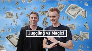 Juggling vs Magic! What makes more money?