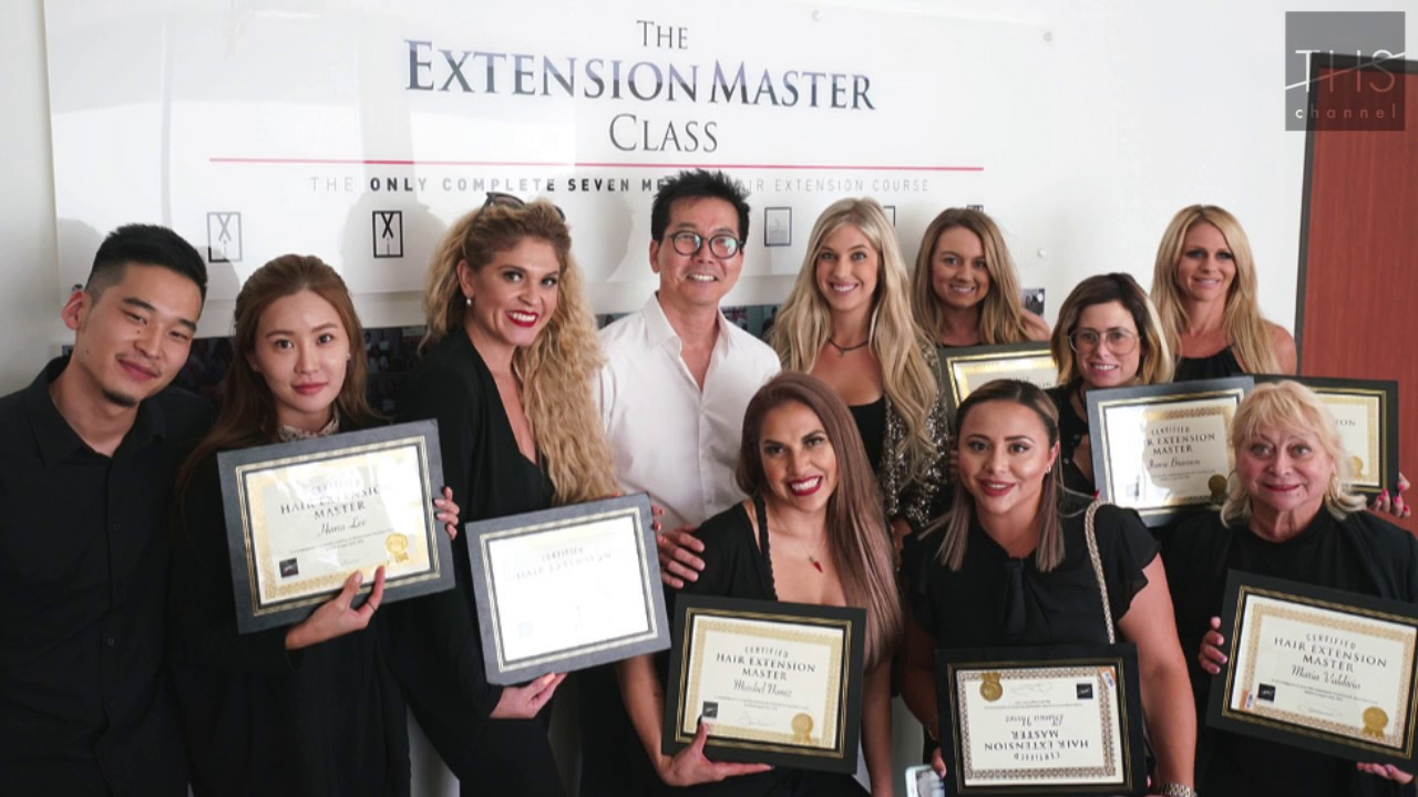 The Hair Shop Extension Master Class Youtube