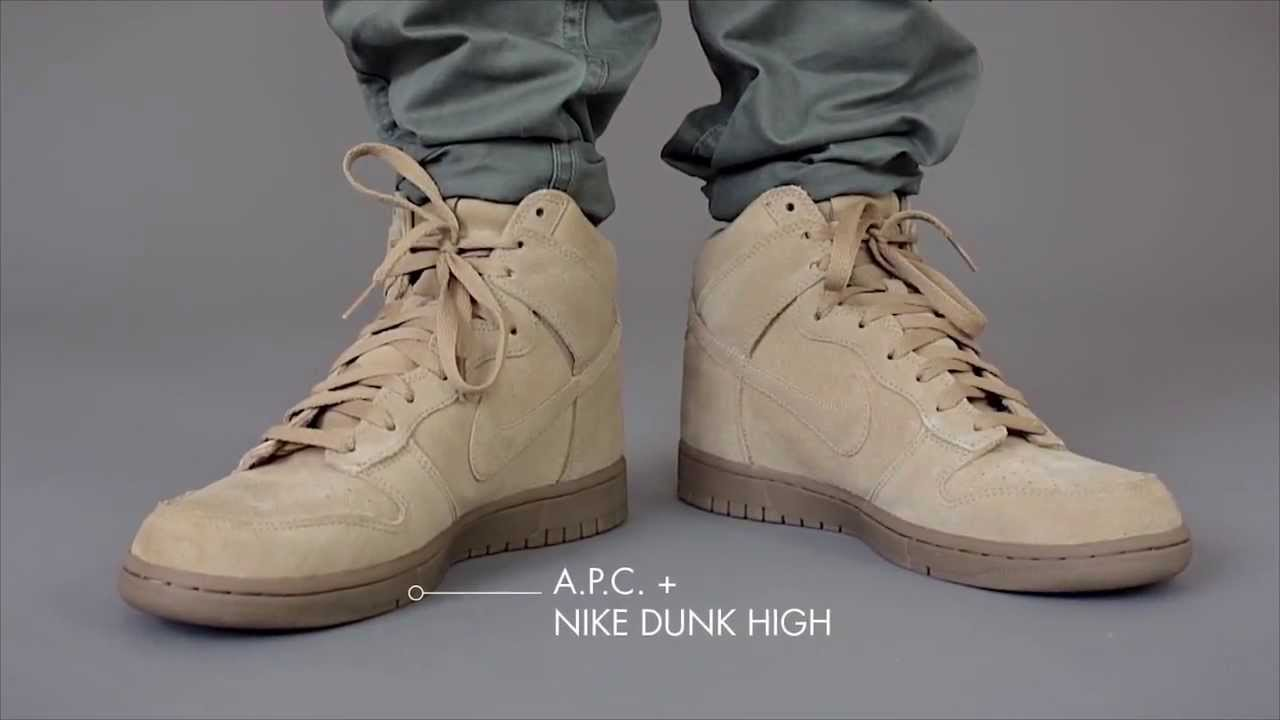 new arrival 3477d 4d2ec IN MOTION   A.P.C. + Nike Sneaker 2013 Collection