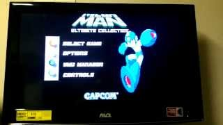 Mega Man Ultimate Collection video test (Sega Dreamcast)