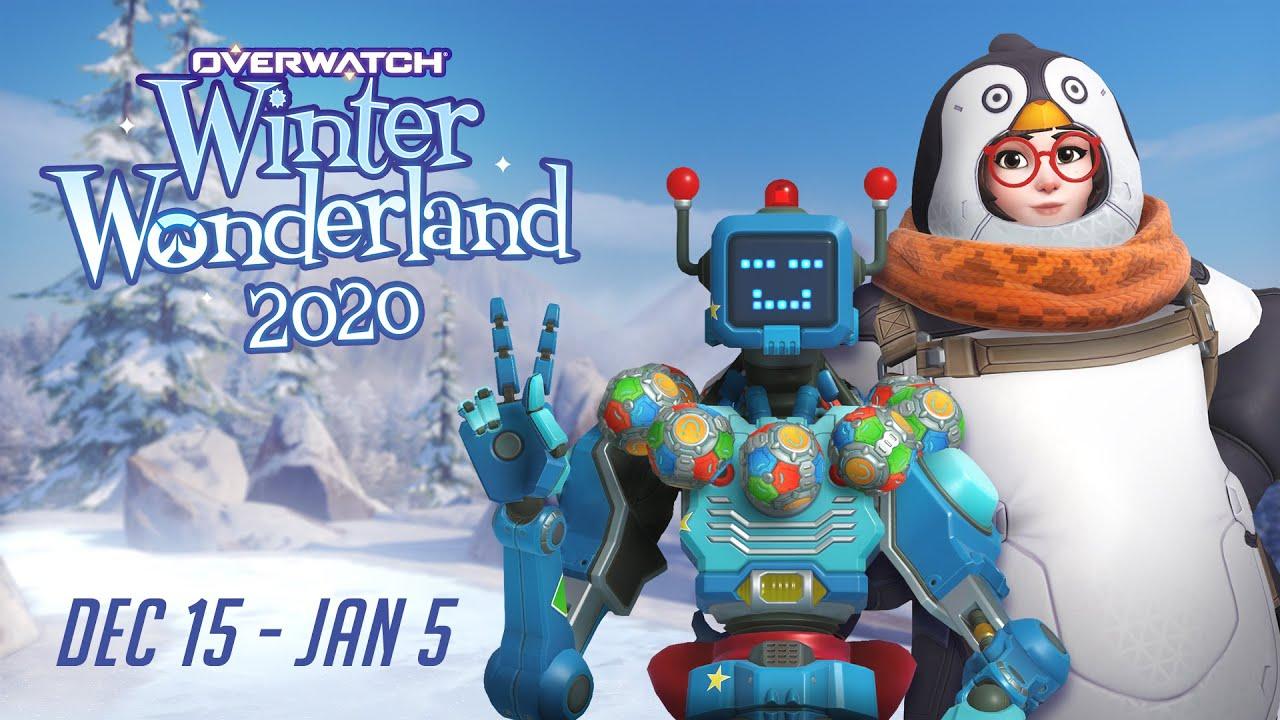 Overwatch Christmas Skins 2021 Overwatch Winter Wonderland Overwatch Seasonal Event Youtube
