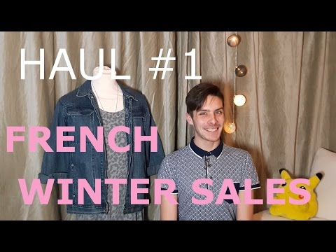 HAUL #1 [ FRENCH WINTER SALES] - Men's fashion - DWS