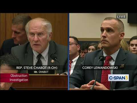 Chabot's Q&A with Corey Lewandowski