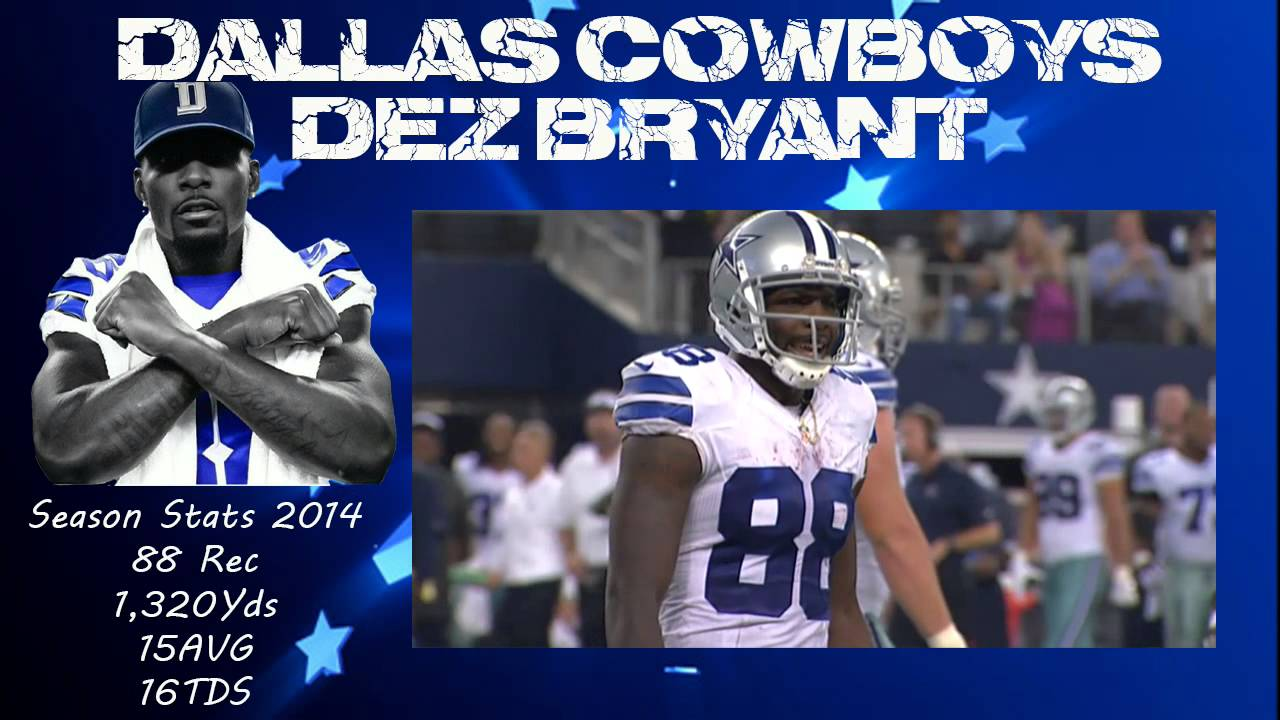 Dez Bryant All Td S Highlights Our Wr
