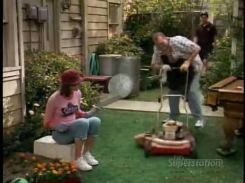 The Drew Carey Show - Drew's Lawn Mower Incident