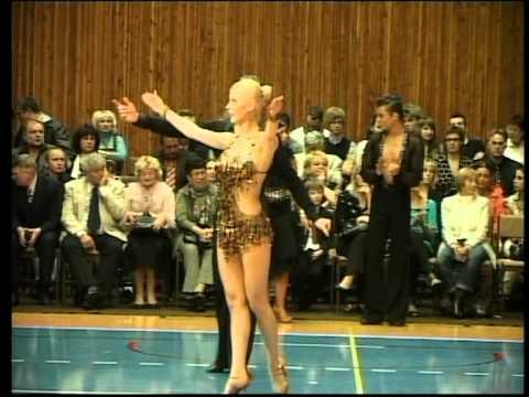 Cạnh tranh quốc tế của phòng khiêu vũ và nhảy Latin GRAN PRIX CHEB 2011