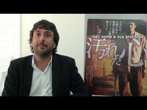 Entrevista, Diretor do filme Corações Sujos, Vicente Amorim 監督インタビュー