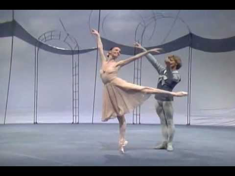 Choreography by Balanchine. Tchaikovsky Pas de Deux