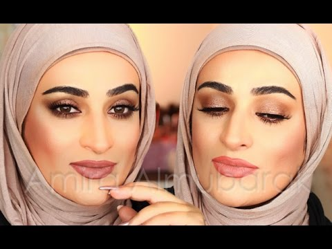 09727a781 Glam bronze full face makeup ,, اميره المبارك ومكياج برونز - YouTube