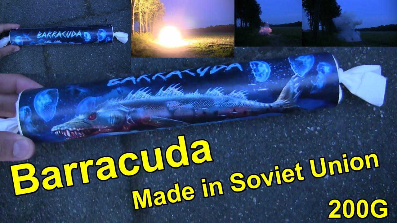 Barracuda - 200G - Made in Soviet Union - VUURWERK - FIREWORKS