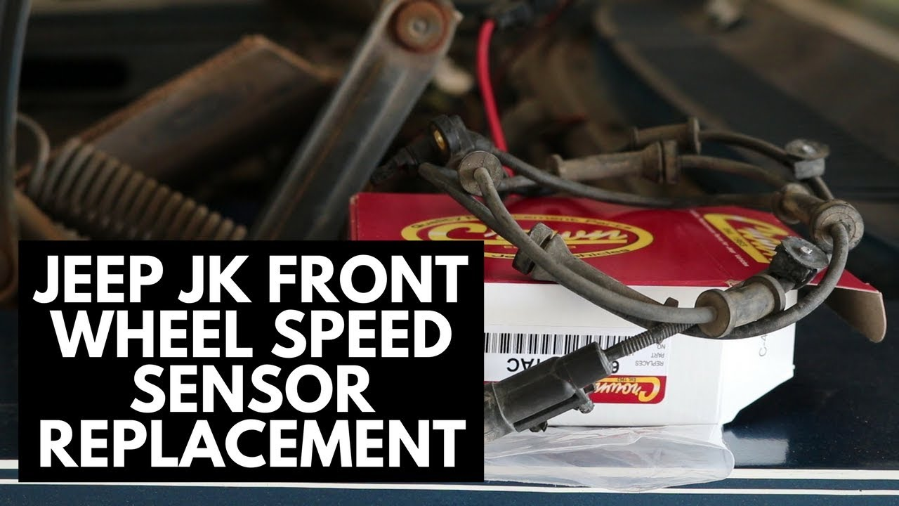 Front Wheel Sd Sensor Replacement [Jeep JK] on