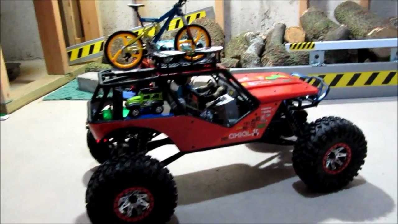 Axial Wraith Mod Rc Crawler Youtube