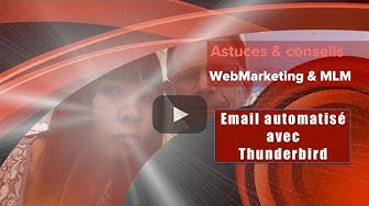 thunderbird email automatique
