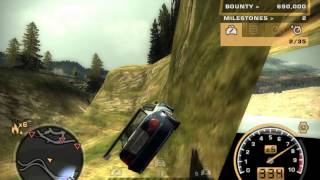 Need For Speed Most Wanted Final Pursuit in under 3 minutes!