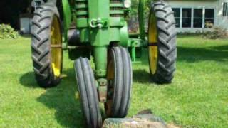 JOHN DEERE TRACTOR roll-o- matic FRONT END TUBALCAIN