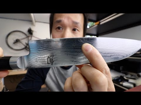 How To Avoid  Scratching Knife When Sharpening