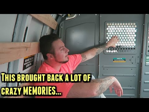 What's It Like Riding In A Prison Van...