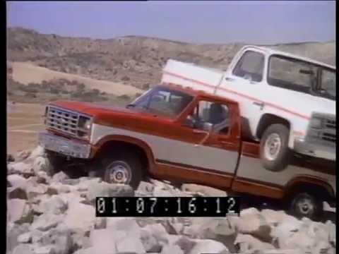 20 Rare Ford Pick Up Truck Commercials from the 1980s! (F-150 and Ranger)
