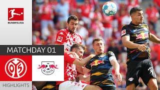 1 FSV Mainz 05 RB Leipzig 1 0 Highlights Matchday 1 Bundesliga 2021 22