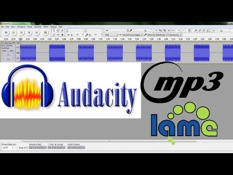 How to Save MP3's in Audacity With the LAME Encoder