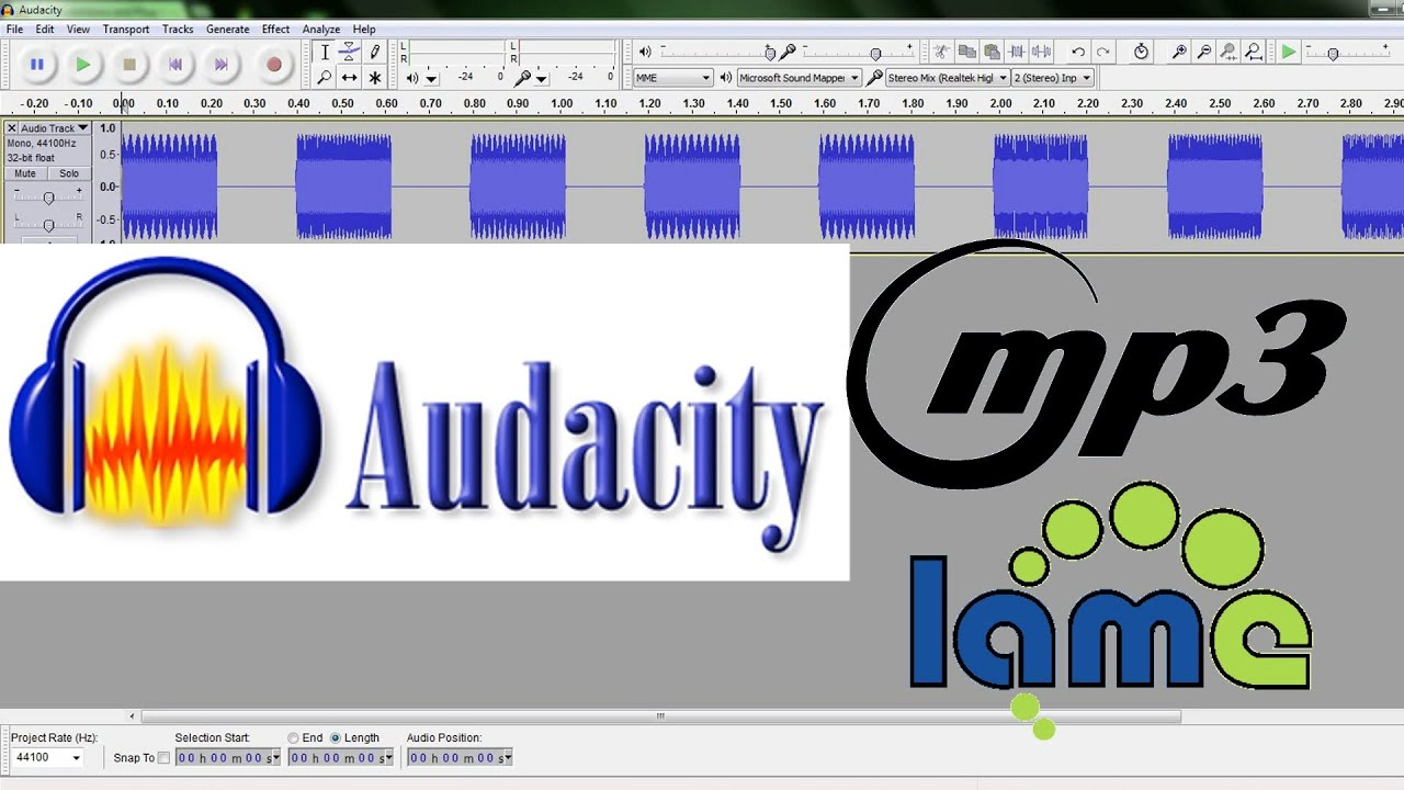 lame mp3 encoder per audacity