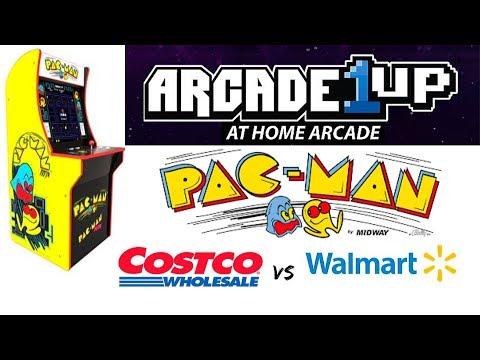 A1UP - Pac Man Cabinet - Costco Vs WalMart