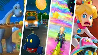 Evolution of Hardest Mario Kart Tracks (1992 - 2018)